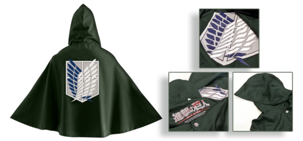 Attack On Titan Cape