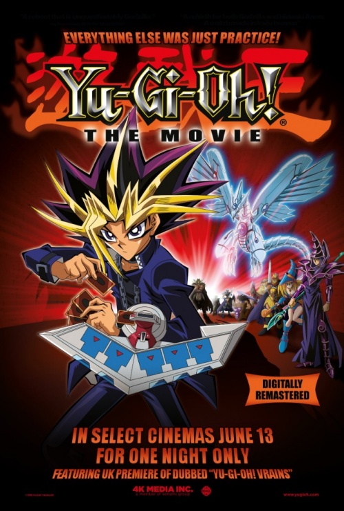 Yu-Gi-Oh! The Movie UK Cinema Screening Details