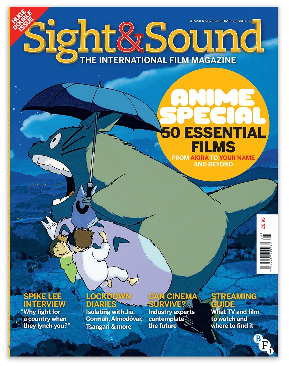 Sight & Sound Magazine Cover - June 2020 Anime Special Issue