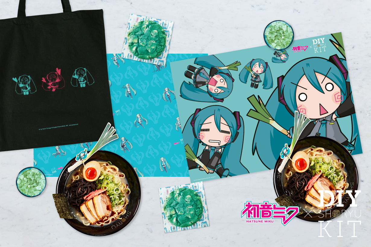 Miku x Shoryu limited edition DIY kit
