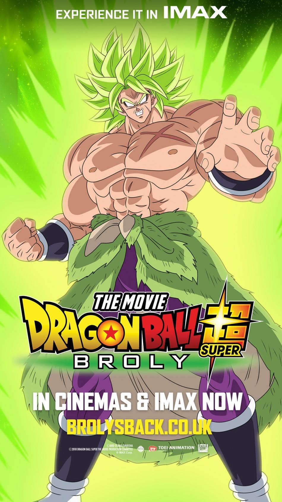 Otaku News Dragon Ball Super Broly Imax Uk Screening Details