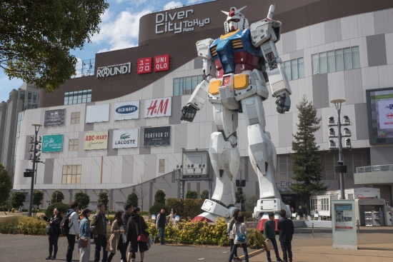 Anime Japan 2016 - And popped by to visit an old friend (most of my friends are giant robots).