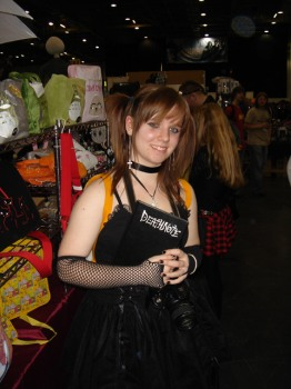 Misa-Misa from Death Note cosplayer