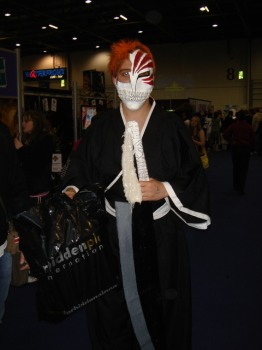 Bleach cosplayer