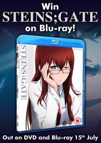 Steins Gate: Part 1 Blu-ray Competition