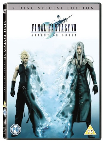 Final Fantasy VII: Advent Children DVD Cover