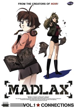 Madlax Volume 1 Cover